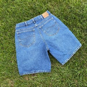 Vtg lees Bermuda denim shorts 12